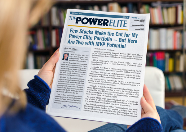 The Power Elite monthly issues
